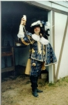 Danny as King Louis XIII